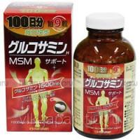 Глюкозамин, MCM, хондроитин на 100 дней